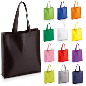 BORSA SHOPPER IN TNT CON SOFFIETTO
