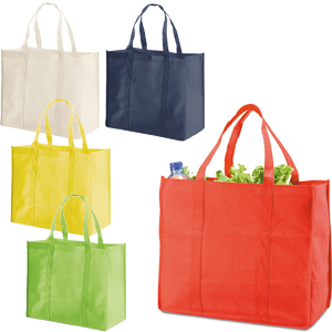 BORSA SHOPPER IN TNT COLORATO