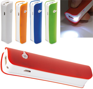 powerbank caricabatterie 2200 mah abs