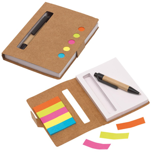 blocco notes mini con penna