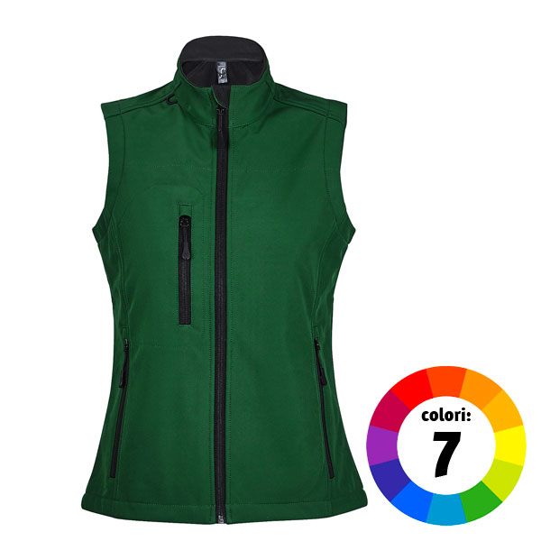 GILET IN SOFT SHELL DONNA