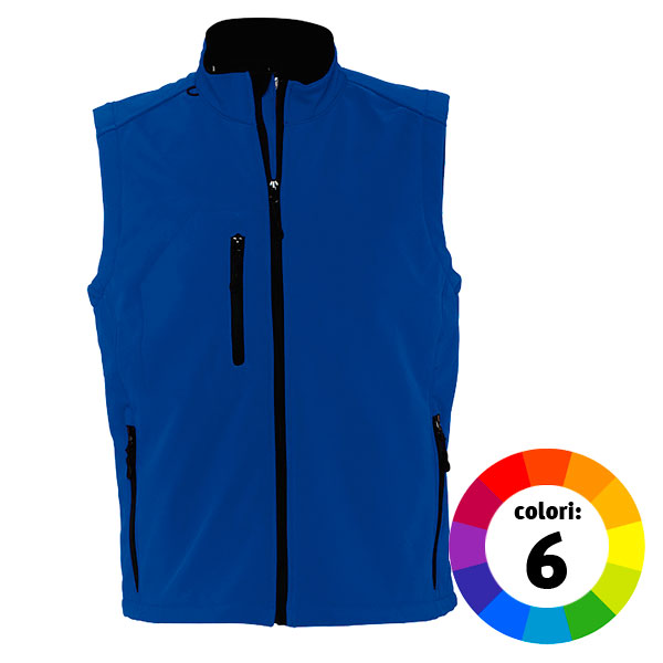 GILET IN SOFT SHELL UOMO