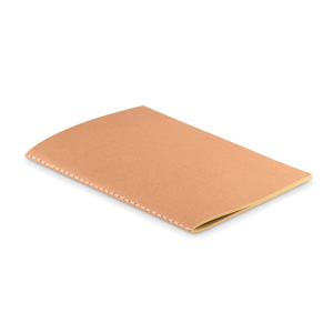 Notebook a5 in carta (250gr) con 80 fogli in carta